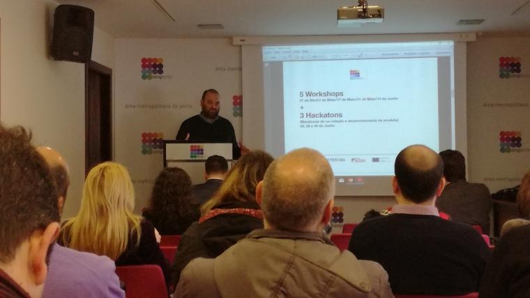 Apresentação do estudo no âmbito do Projeto AMP URBINOV